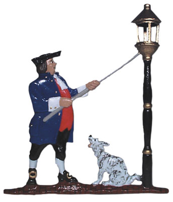 Lamplighter Weathervane